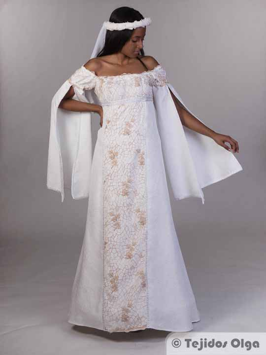 Vestidos novia medieval