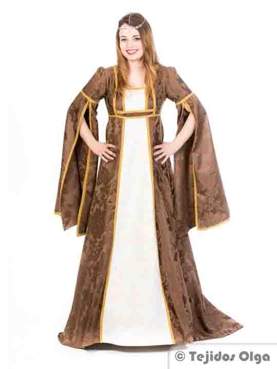 Trajes medievales vestidos medievales y disfraces - Trajes de carnaval de epoca ...